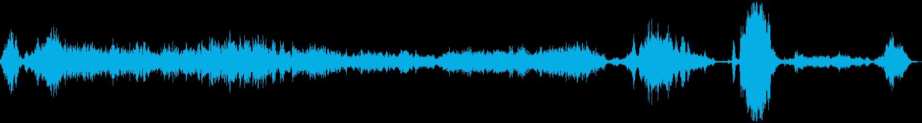 ロングスクレイプ;低頻度;拡張メタ...の再生済みの波形