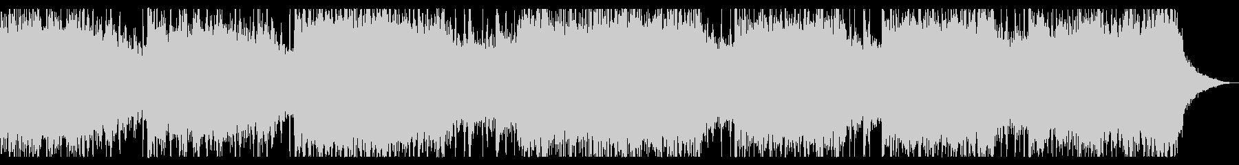 パーカッション入りミステリアスなBGMの未再生の波形