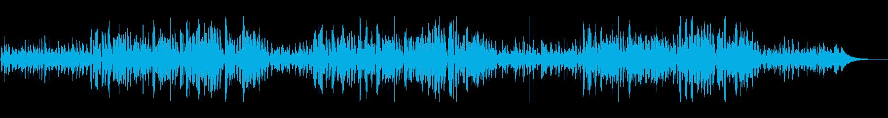 有名クリスマスソングおしゃれなボサノヴァの再生済みの波形