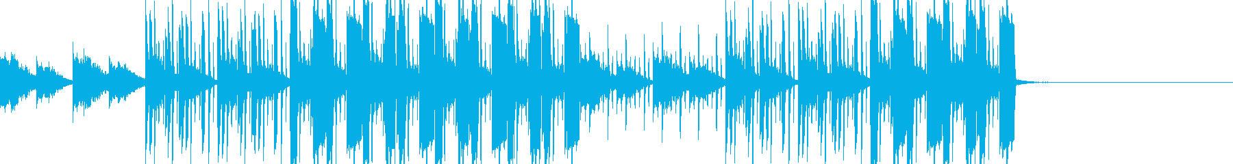 レトロ ビンテージ ピアノ ベース...の再生済みの波形