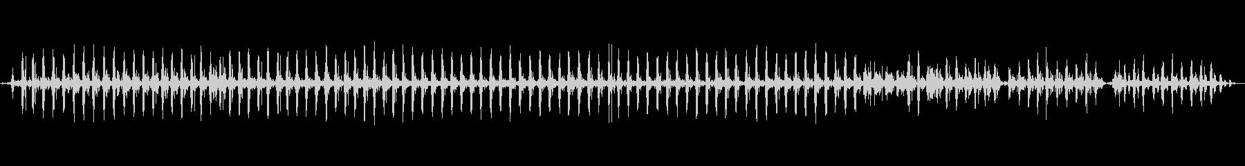 西会津町 - 伝統産業 舟水を混ぜる音の未再生の波形