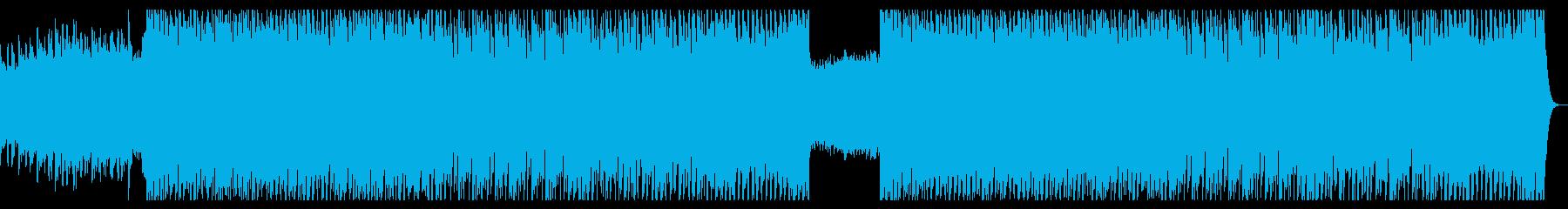 対決・ピンチ・緊迫感・ロック・激しいの再生済みの波形
