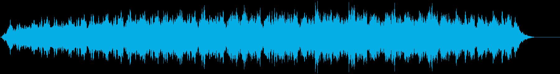 リズミカルな倍音を伴うスローハイピ...の再生済みの波形