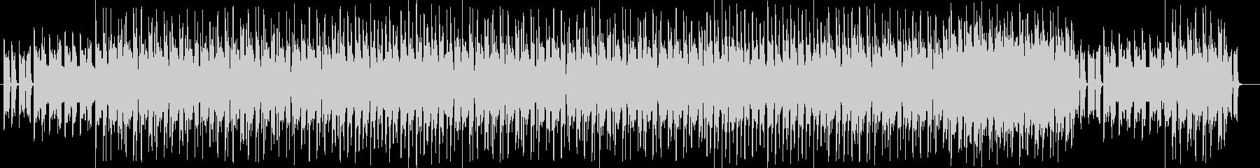 ノスタルジックで切ないテクノポップの未再生の波形