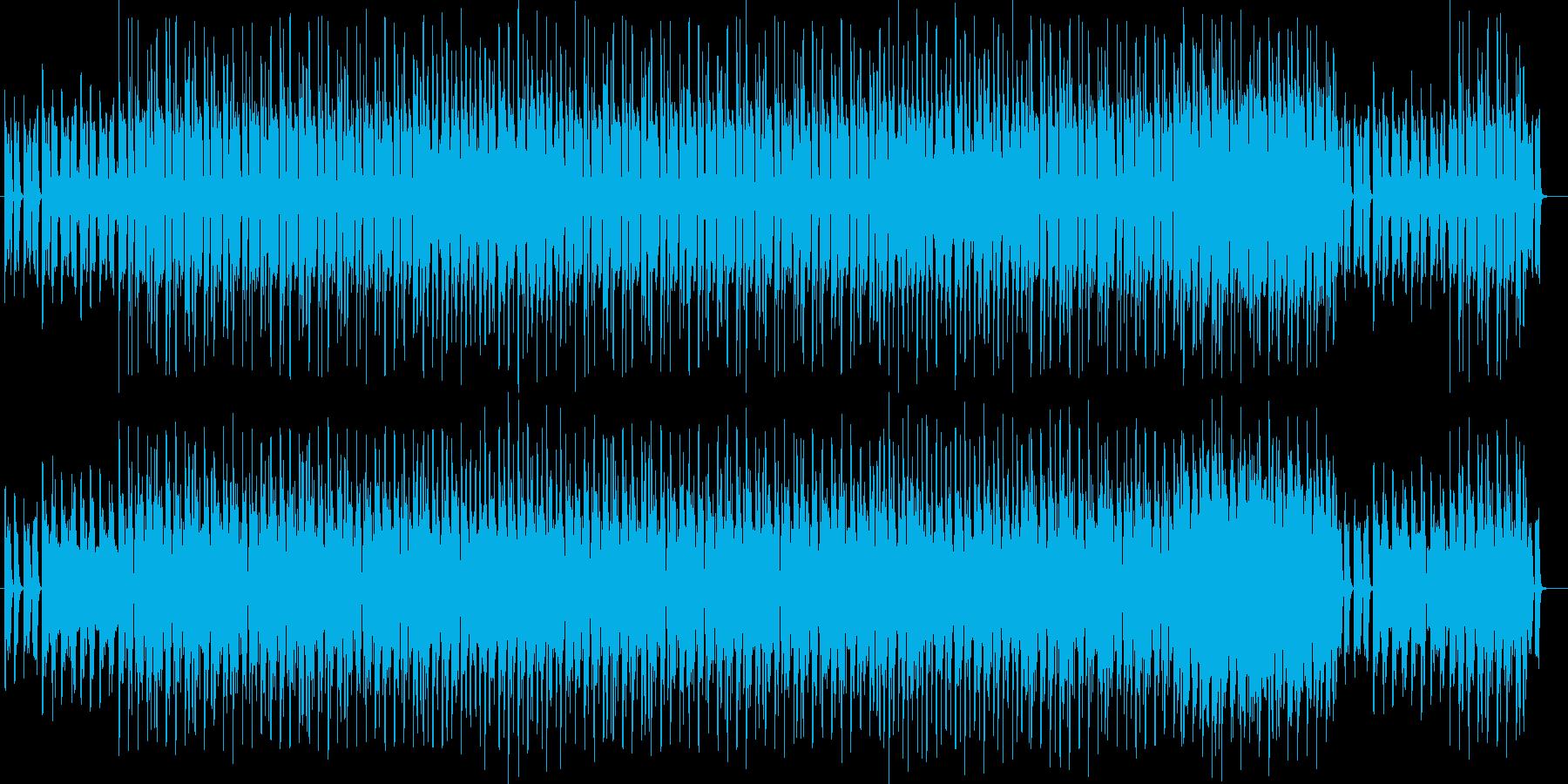 ノスタルジックで切ないテクノポップの再生済みの波形