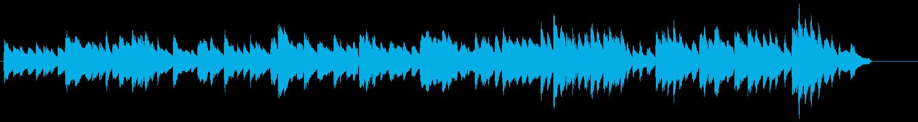 「悲壮」第2楽章 前半部分(部屋)の再生済みの波形