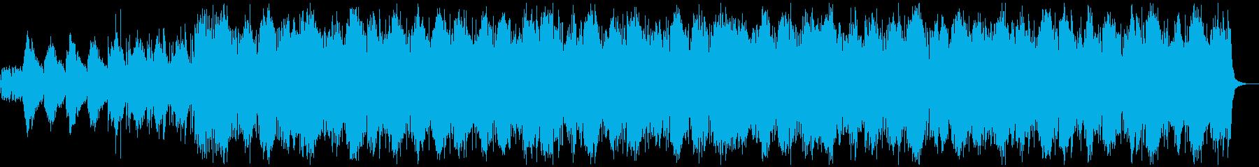 考え中・リザルト画面のアンビエンスの再生済みの波形