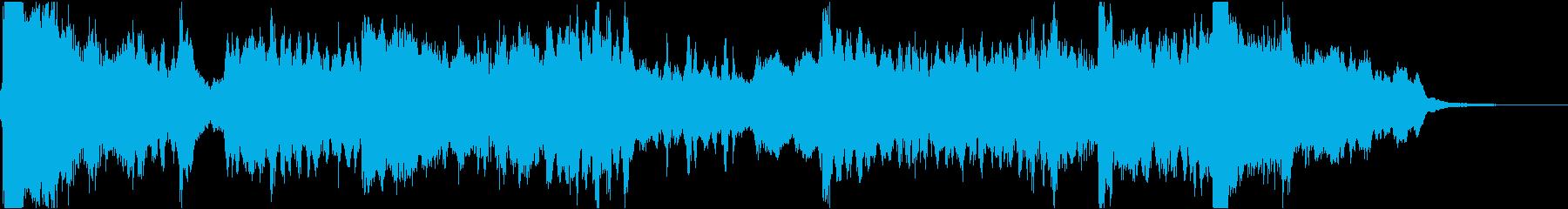 27秒・尺八、琴、弦楽器の静かなジングルの再生済みの波形