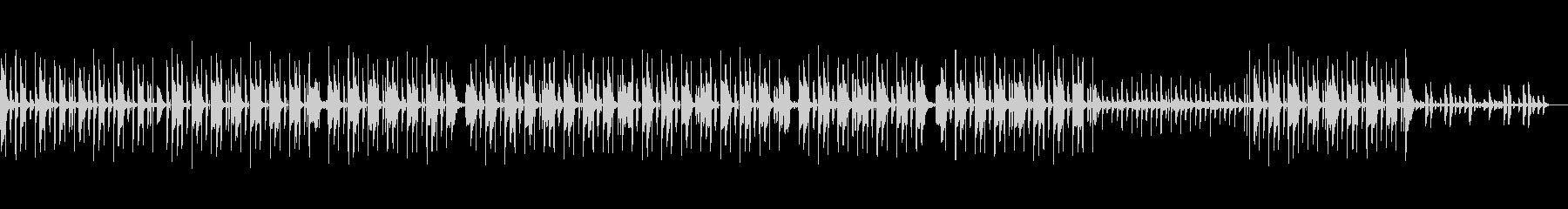 ノリノリのエレクトロ系ヒップホップの未再生の波形