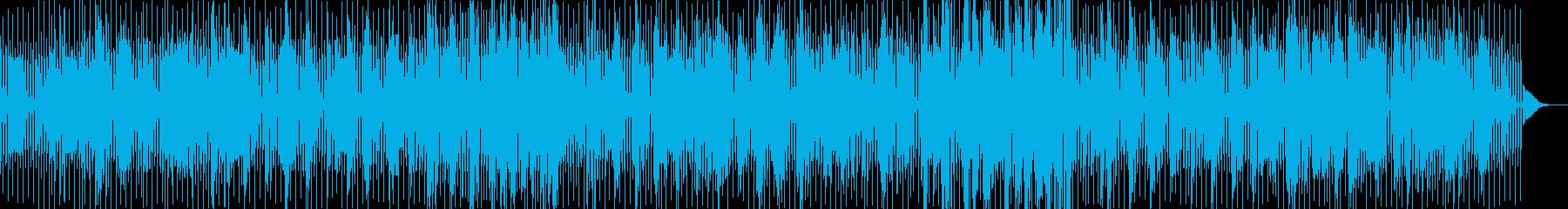 ピアノによるDeep Houseの再生済みの波形
