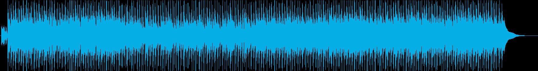 ほのぼのアコースティックPOPの再生済みの波形