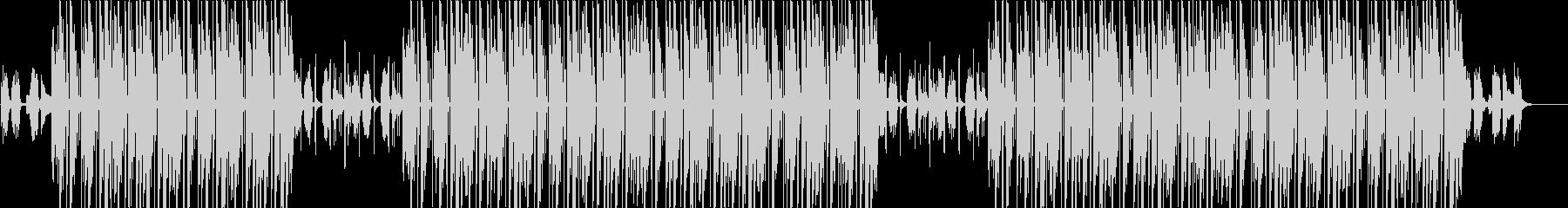 ローファイ、チルアウト、トラップソウル♪の未再生の波形