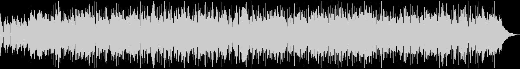 カントリー調のロックバラードの未再生の波形
