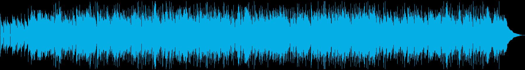 カントリー調のロックバラードの再生済みの波形