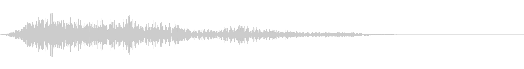 SF 移動音 19の未再生の波形