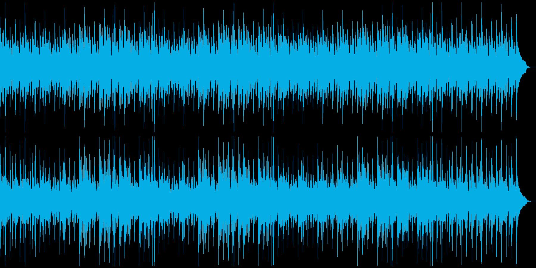 幻想的でノスタルジックな癒し系ヒーリングの再生済みの波形