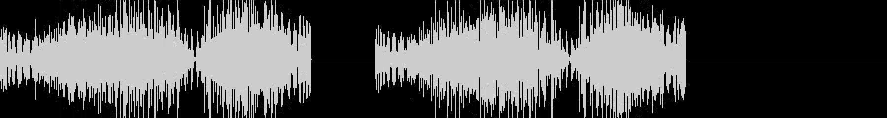 DJプレイ スクラッチ・ノイズ 317の未再生の波形