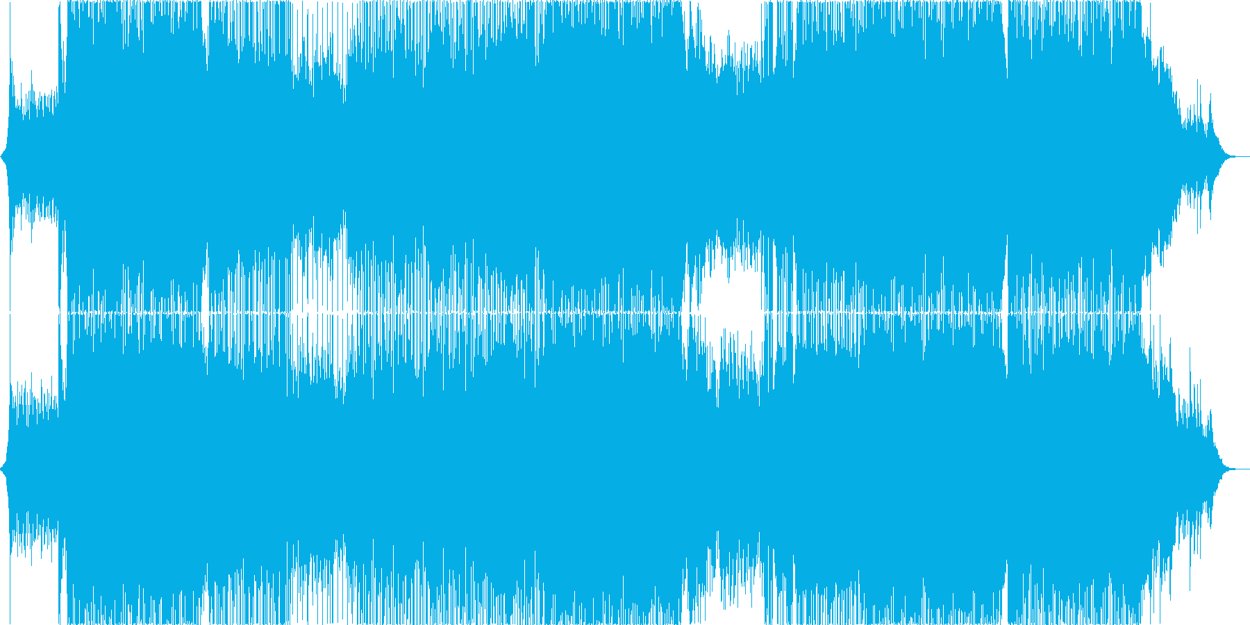企業VP 爽やかなEGメロとアコギ生演奏の再生済みの波形