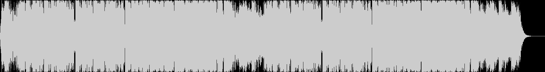 デジタルでエモーショナルなヒップホップの未再生の波形