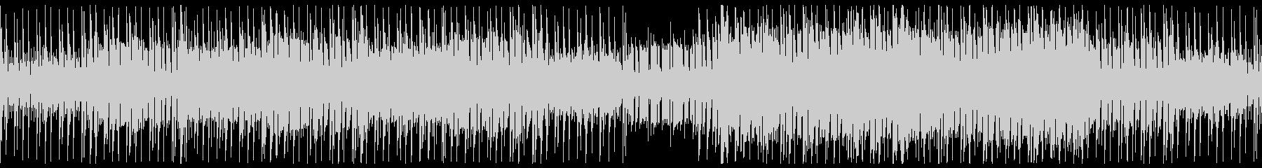 ダークなアップミドルサイバー系BGMの未再生の波形