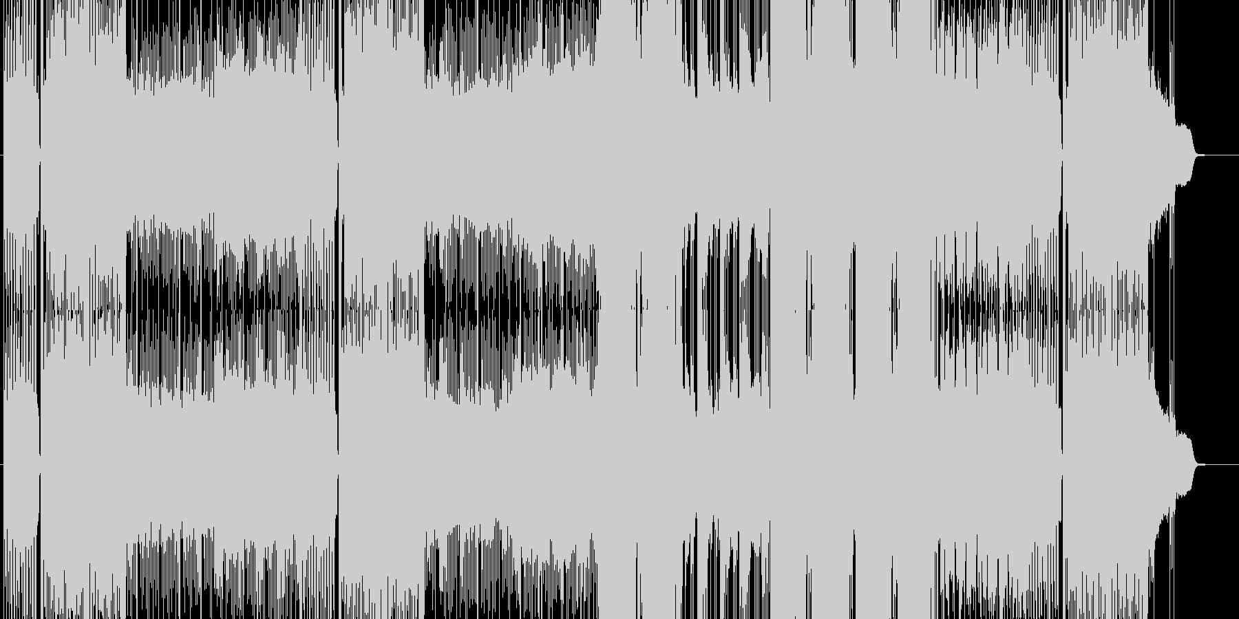 「ハード/ヘヴィ/ダーク」BGM76の未再生の波形
