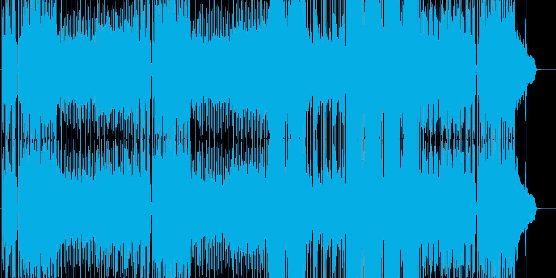 「ハード/ヘヴィ/ダーク」BGM76の再生済みの波形