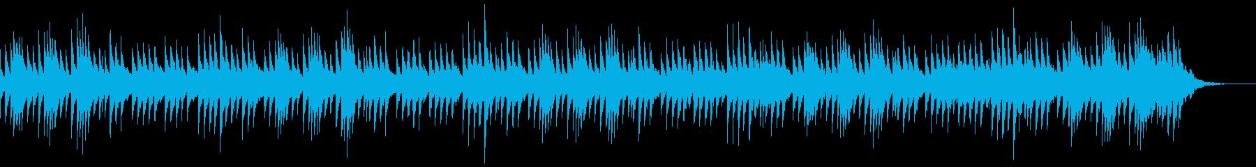 愛らしい「クリスマス」オルゴール風の再生済みの波形