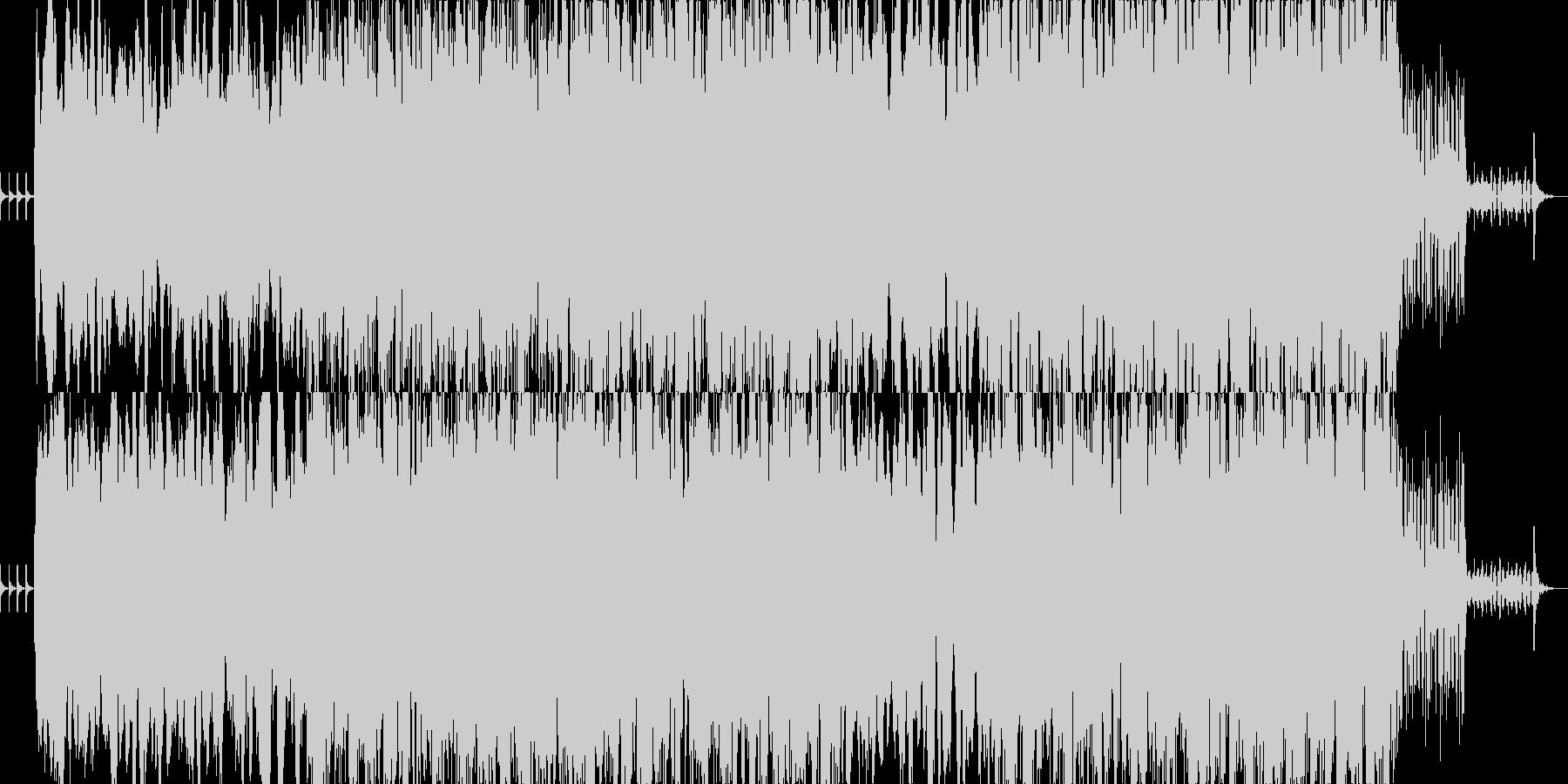 時計のカウントダウンを彷彿とさせる音色…の未再生の波形