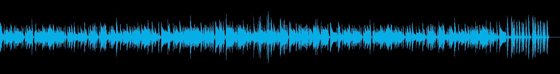 ふんわり優しい雰囲気のボサノバです。の再生済みの波形