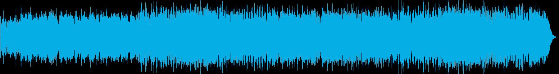和楽器を使った和風オリジナル幻想曲です。の再生済みの波形