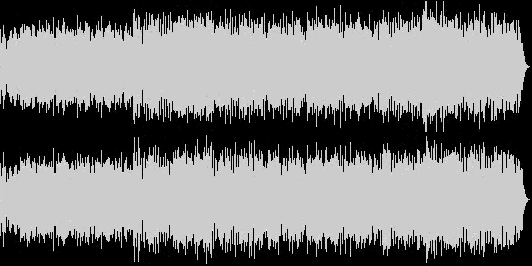 和楽器を使った和風オリジナル幻想曲です。の未再生の波形