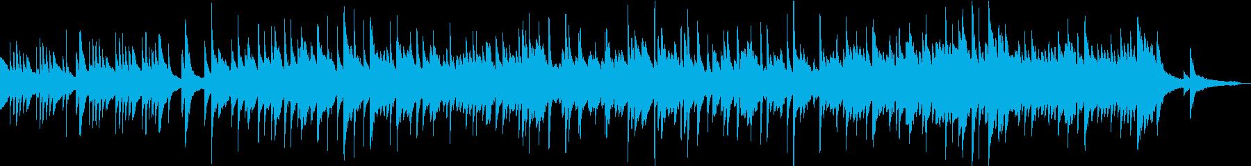 リラックス切ないピアノバラードの再生済みの波形