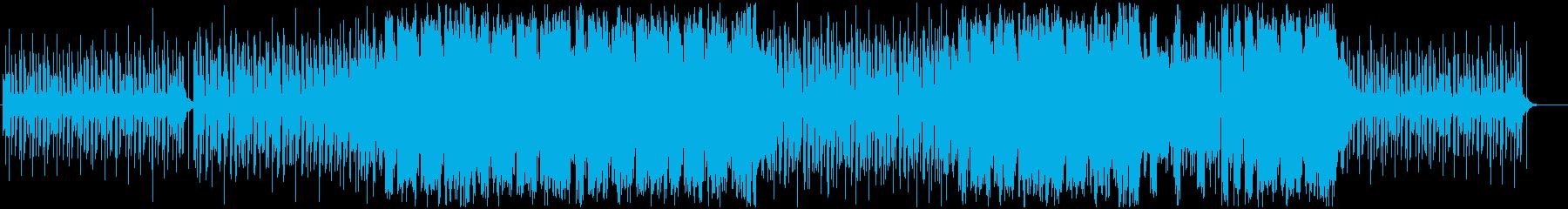 元気の出るトロピカルハウス 声有りの再生済みの波形