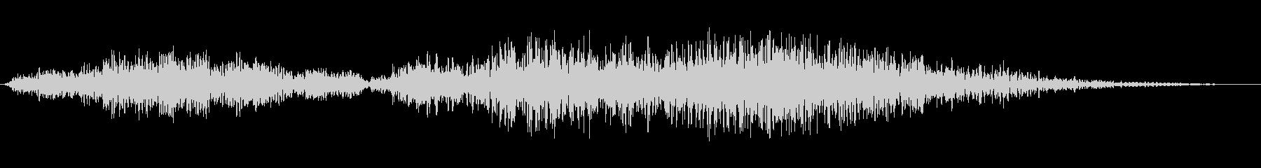 ダークエンディングの未再生の波形
