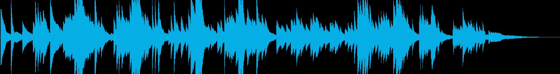 自律神経を整えるヒーリングピアノソロ曲の再生済みの波形