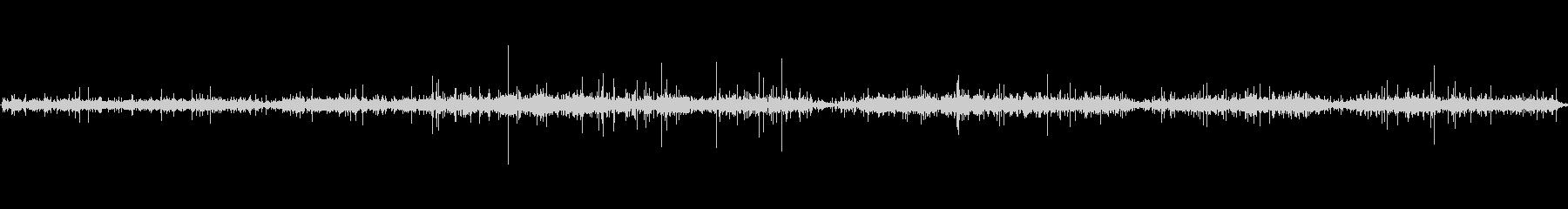 ヒューズの燃焼1の未再生の波形