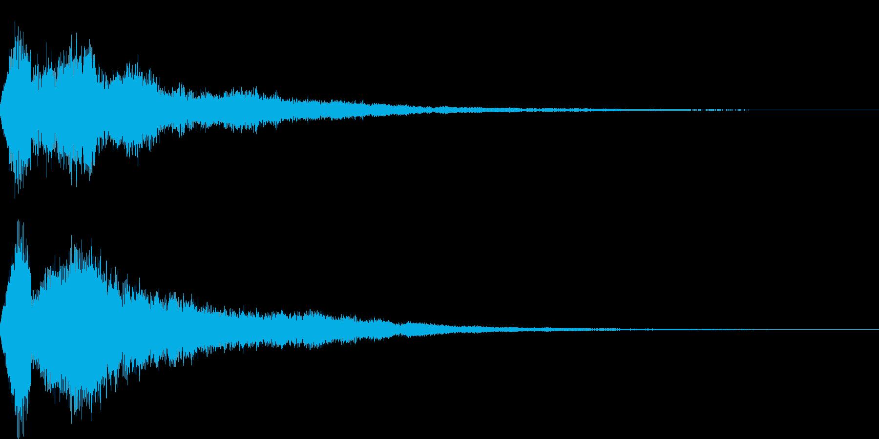 ファンタジー決定の再生済みの波形