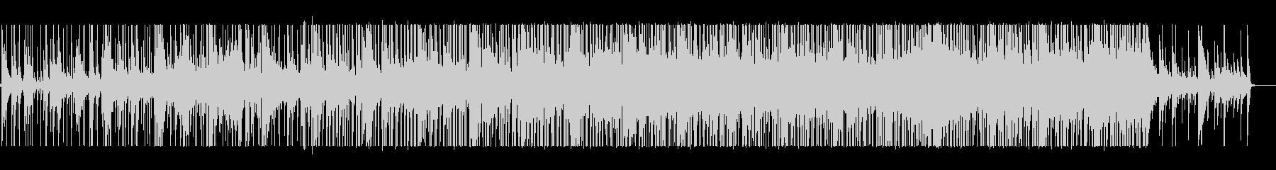 哀愁ある循環コードの曲の未再生の波形