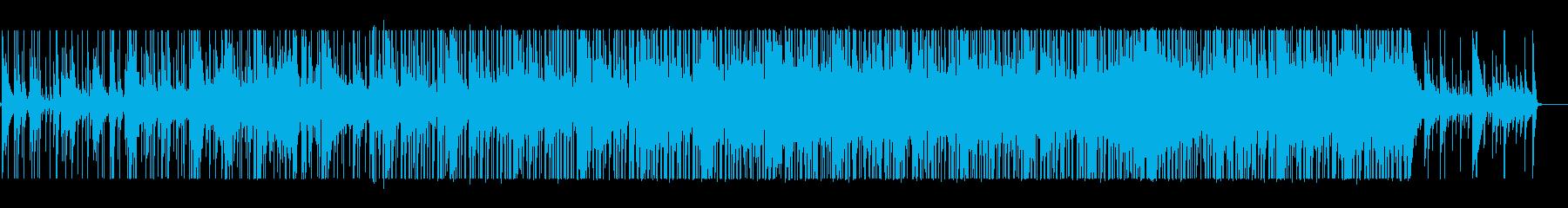 哀愁ある循環コードの曲の再生済みの波形