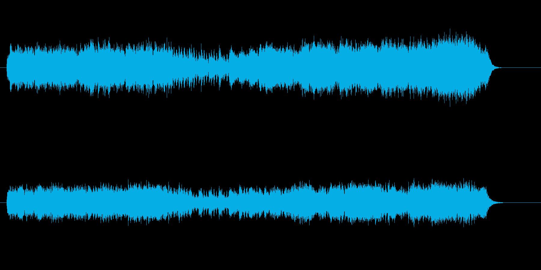 セミ・クラ風ストリングス・アレンジの再生済みの波形