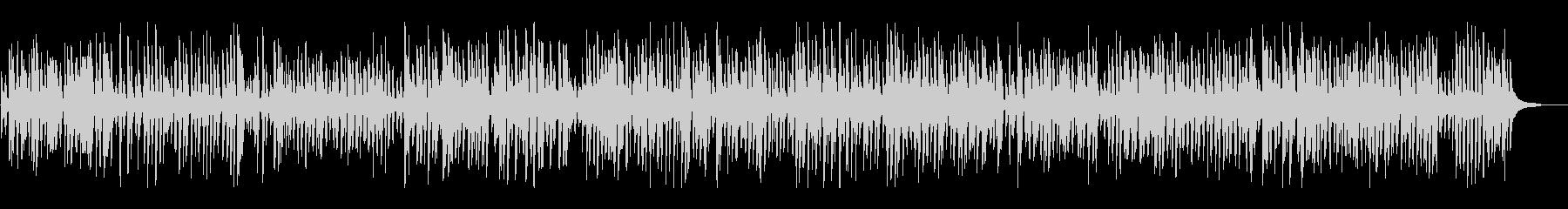 爽やかオールドジャズピアノトリオの未再生の波形