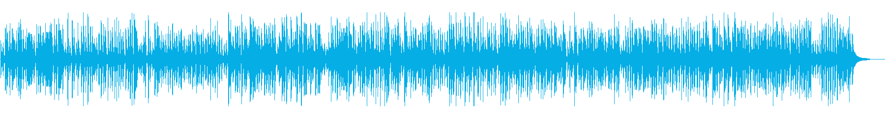 爽やかオールドジャズピアノトリオの再生済みの波形