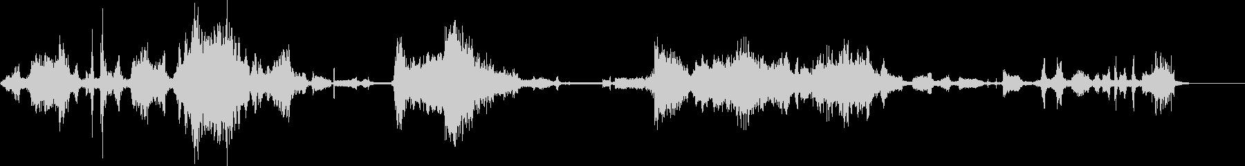 エイリアンプローブの未再生の波形