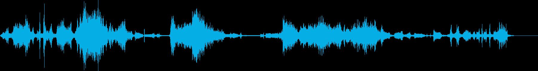 エイリアンプローブの再生済みの波形
