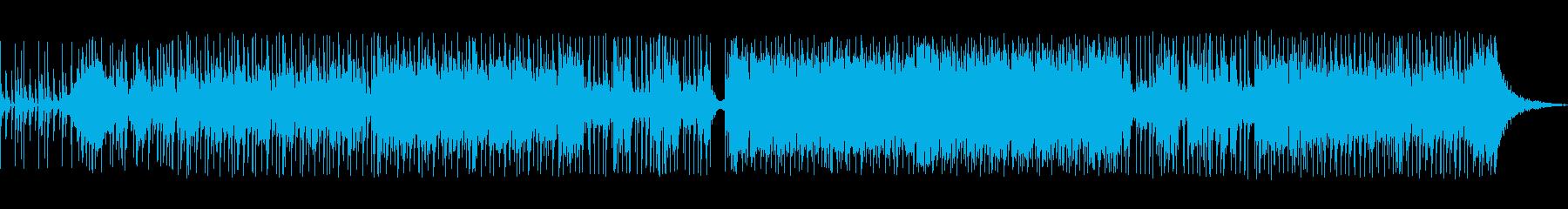 軽快でコミカルなテクノポップスの再生済みの波形