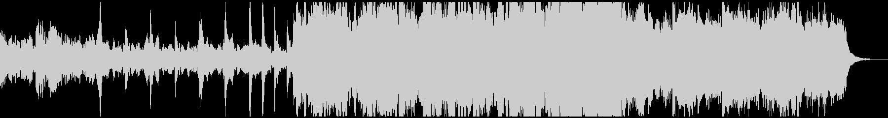 ベルと木管が主体の優しい曲の未再生の波形