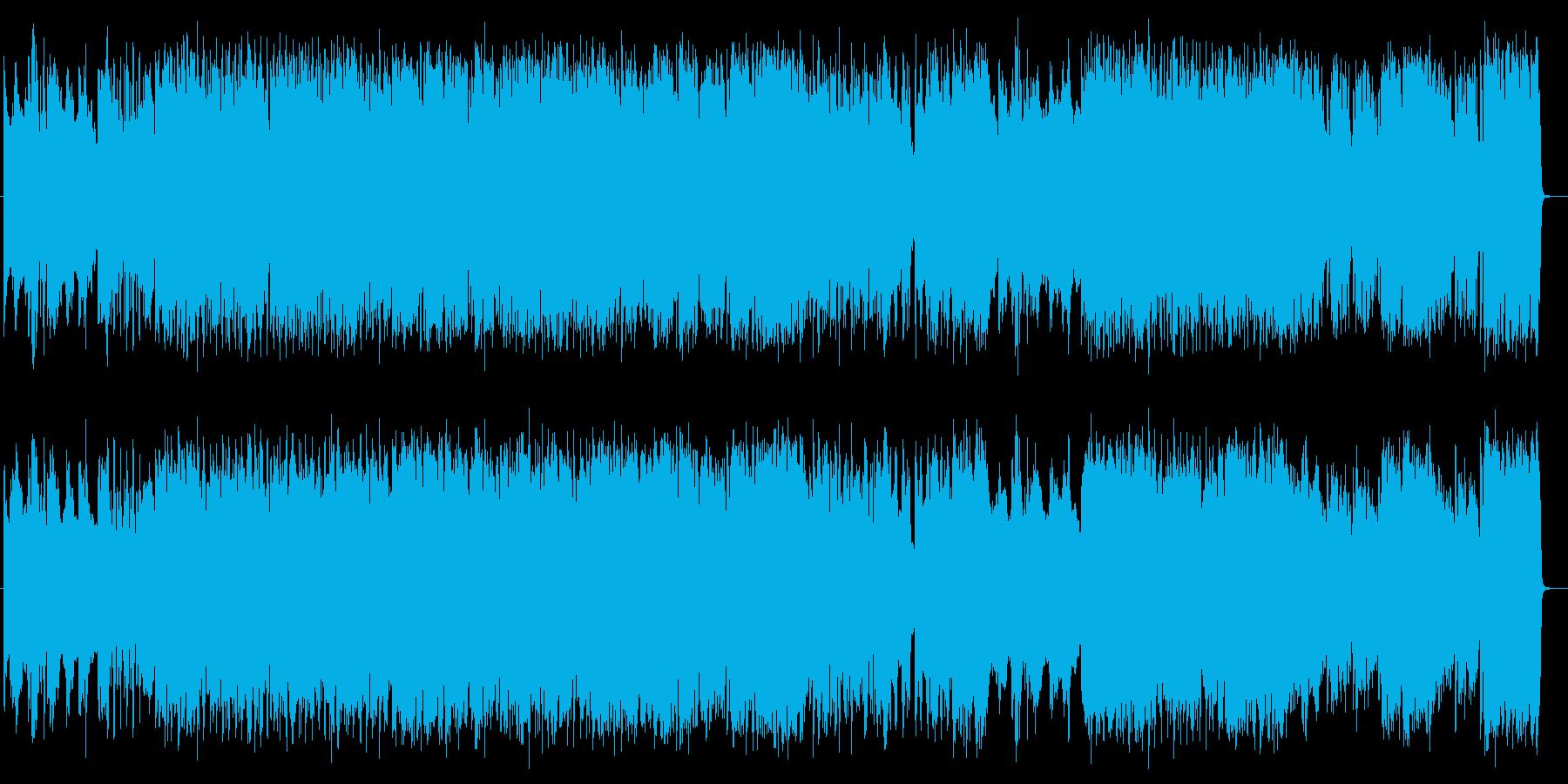 疾走感があるギターロックサウンドの再生済みの波形