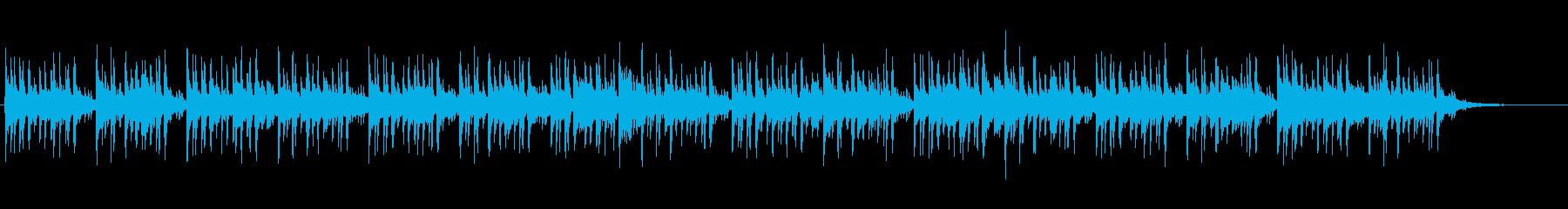 軽やかなEDMに変身したメヌエットの再生済みの波形