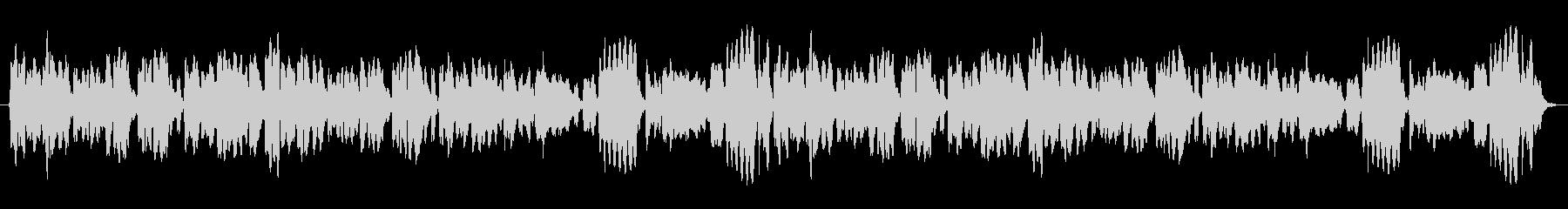 穏やかなフルート三重奏のアンサンブル(…の未再生の波形