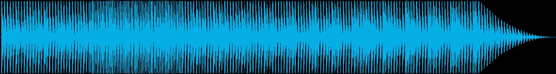 散歩したくなるようなほのぼのしたBGMの再生済みの波形
